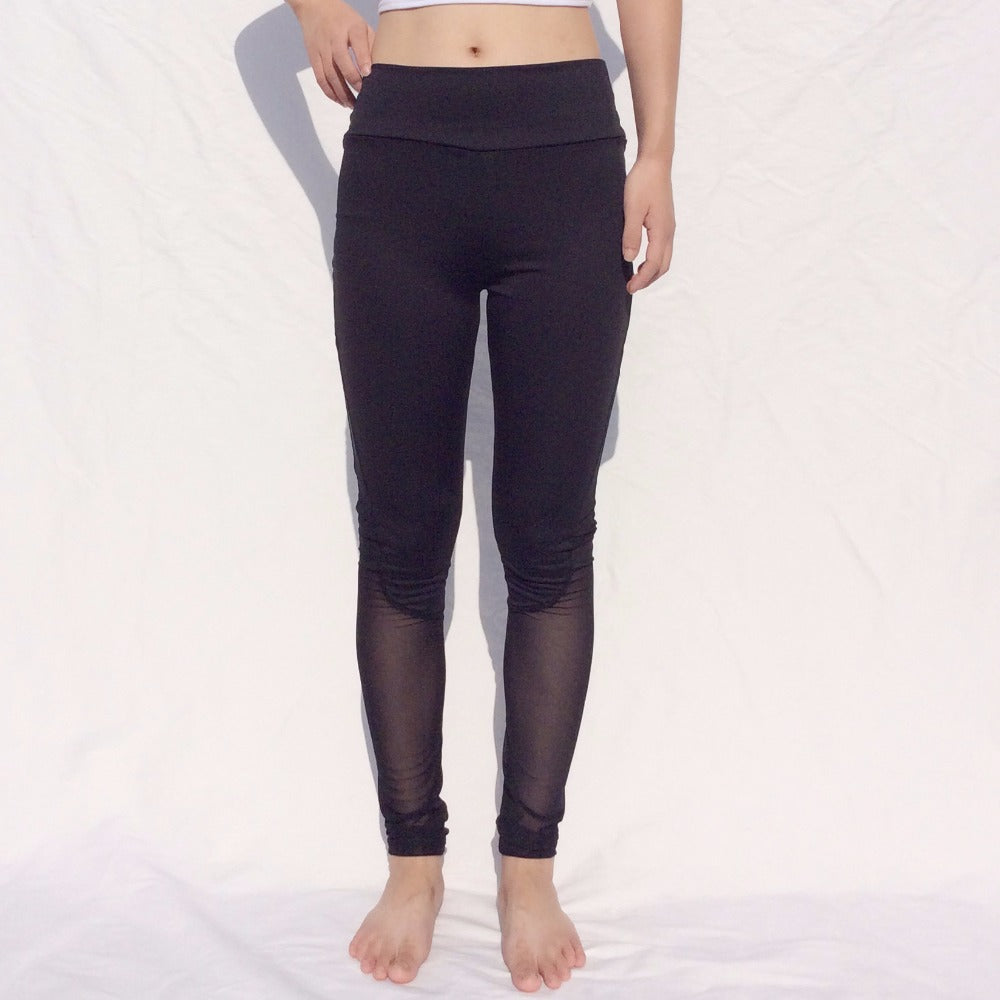 Mesh Yoga Trousers