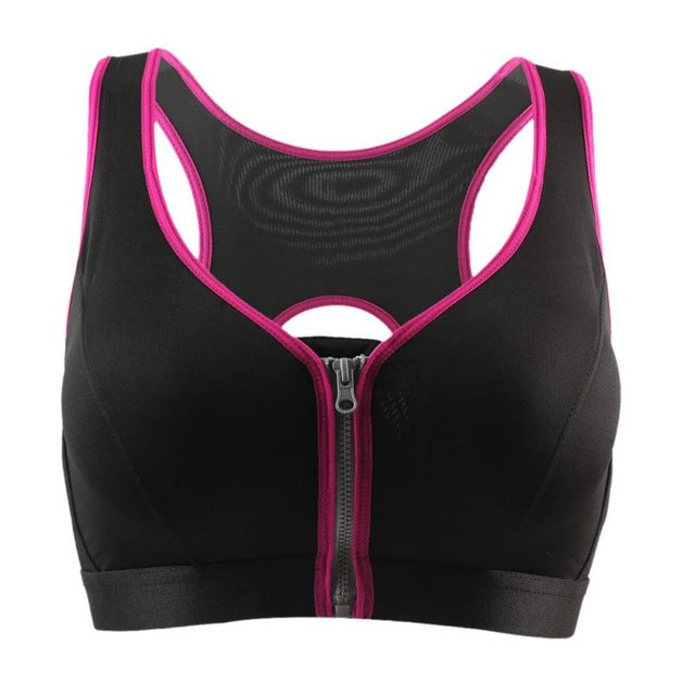 Front Zipper Tank Top