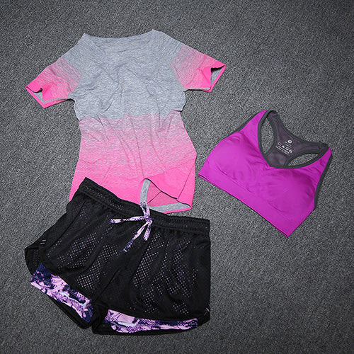 Short-sleeved Yoga Clothing