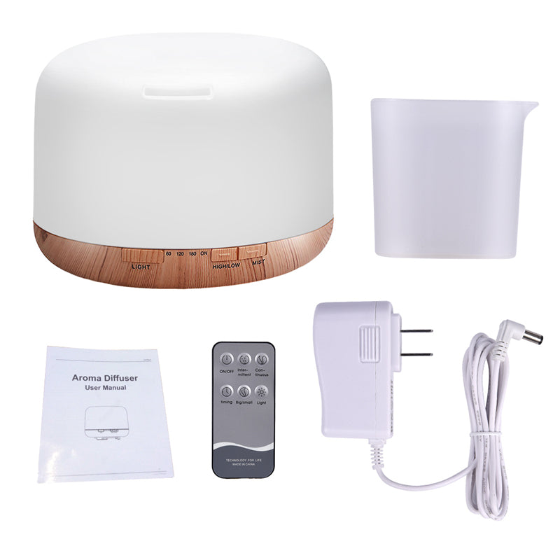 Air Humidifier Essential oil diffuser 500ML Ultrasonic Cool Mist Maker/Fogger