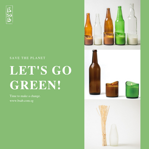 SAVE THE PLANET LET'S GO GREEN
