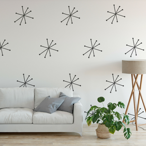 Oh So Lovely Large Starburst Stencils