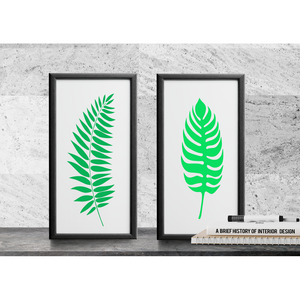 Tropical Leaf Stencils