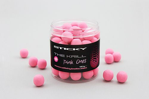 Sticky Baits The Krill Pink Ones Wafters