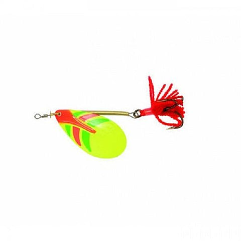 Ondex Spinner Bait Fire Tiger-Silver or Gold Decor Lure