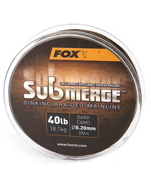 Fox Submerge Sinking Braided Mainline 300m