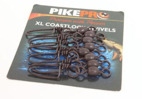 PikePro XL Coastlock Swivels