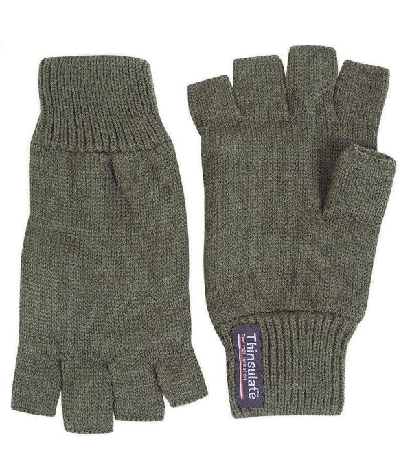 Fingerless Thinsulate Fishing Gloves