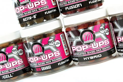 Mainline Baits Dedicated Base Mix Mini Pop Ups 12mm