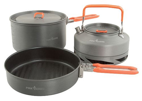 Fox Cookware Medium 3 Piece Pan Set