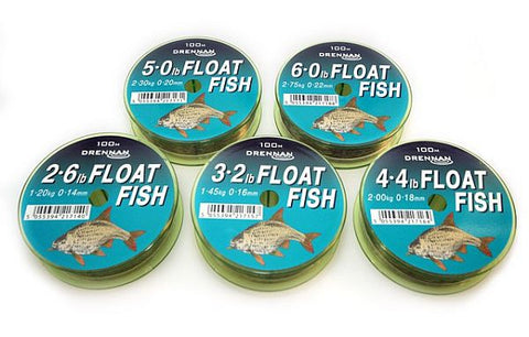 Drennan Float Fish Fishing Line 100m