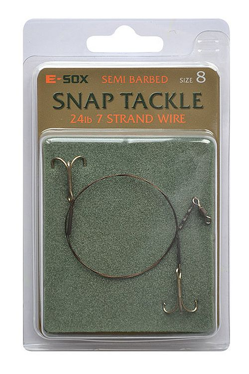 Drennan E Sox Semi Barbed Snap Tackle