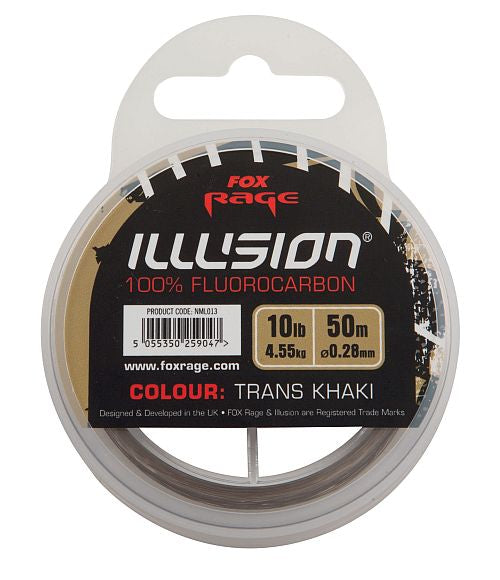 Fox Rage Illusion Fluorocarbon Line