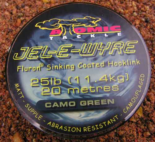 Atomic Tackle Jel E Wyre Coated Jelly Wire Hooklink