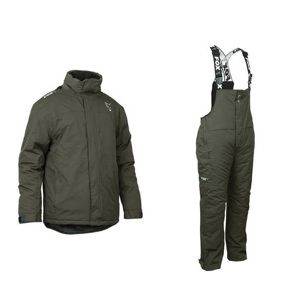 Fox Green and Silver Winter Fishing Suit