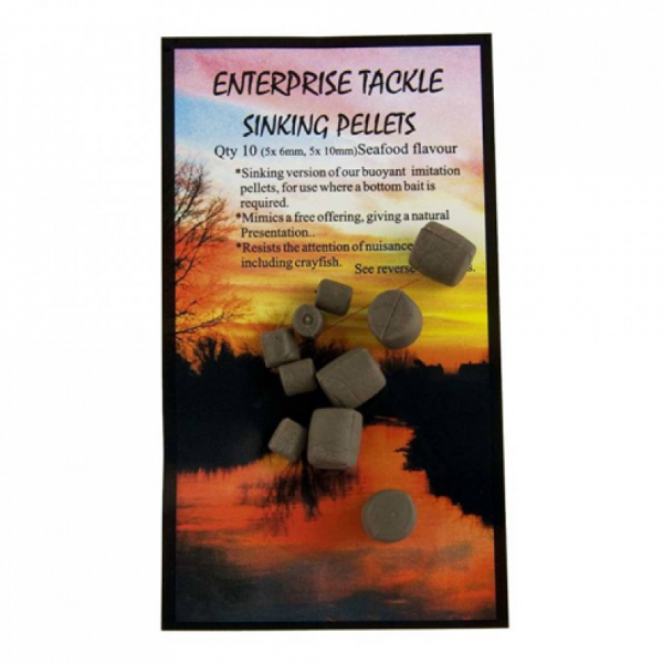 Enterprise Tackle Sinking Pellets