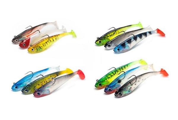 Soft Shad Pike Lures