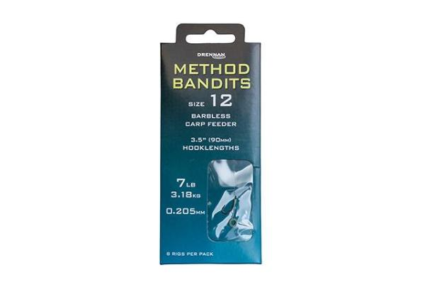 Drennan Method Bandits Carp Feeder Hooks To Nylon