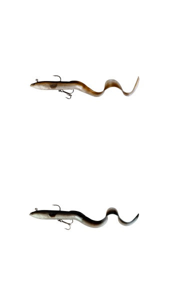 "Savage Gear 3D Real Eel Ready to Fish 20cm / 8"" 38g"