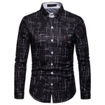 Starry Pattern Long Sleeve Shirt