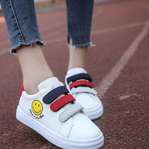 OBBVY-Smiley Velcro Single Shoes