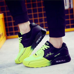 OBBVY-Color Matching Mesh Breathable Sneakers