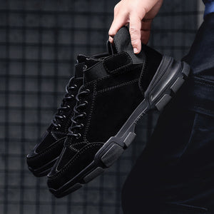 OBBVY-Men's Casual Shoes Boots