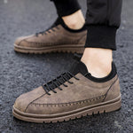 OBBVY-Casual Men's Shoes Suede Shoes Size US6.5-12/EU39-46