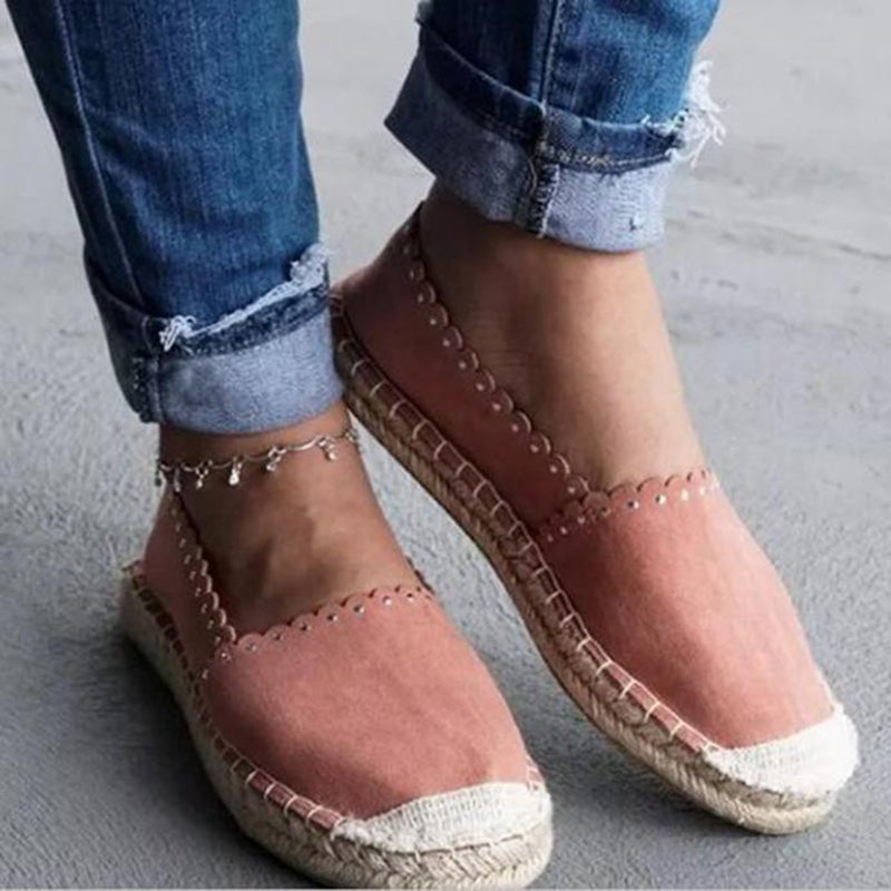 OBBVY-Women's Linen Shoes