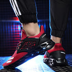 OBBVY-Mesh Breathable Sneakers Ultralight Running Shoes Large Size EUR39-46 Men's Shoes