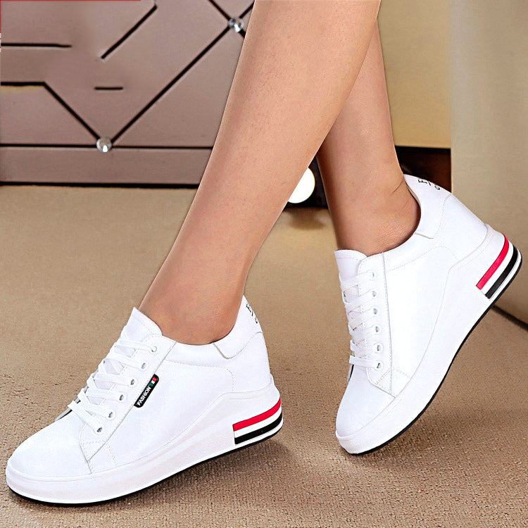 OBBVY-Women's Insole Heightening Shoes Beautiful Wedge Shoes
