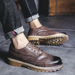 OBBVY-Retro Low-top Martin Boots Brock Men's Shoes