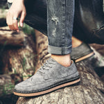 OBBVY-Wear-resistant Versatile Fashion Shoes Suede Boots
