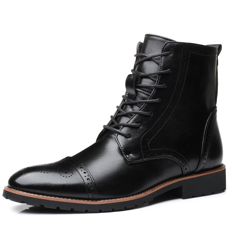 OBBVY-Bullock Carved Boots Size EU38-48