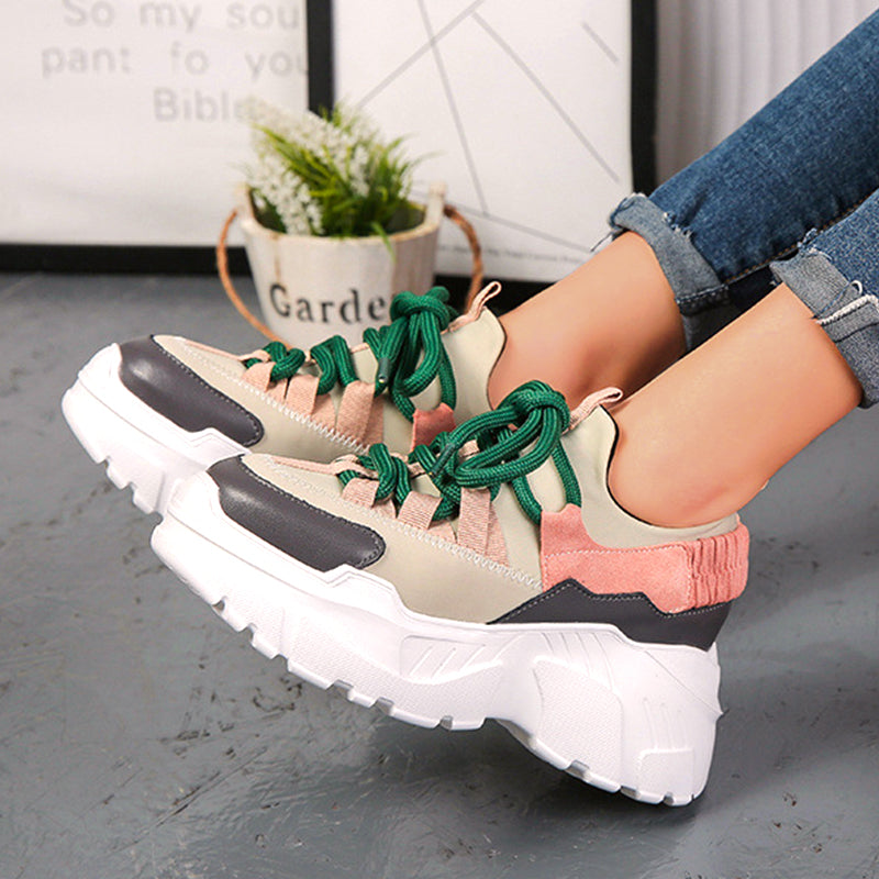 Fashion Trend-Platform Women's Shoes Increased Height-Better Than High Heels