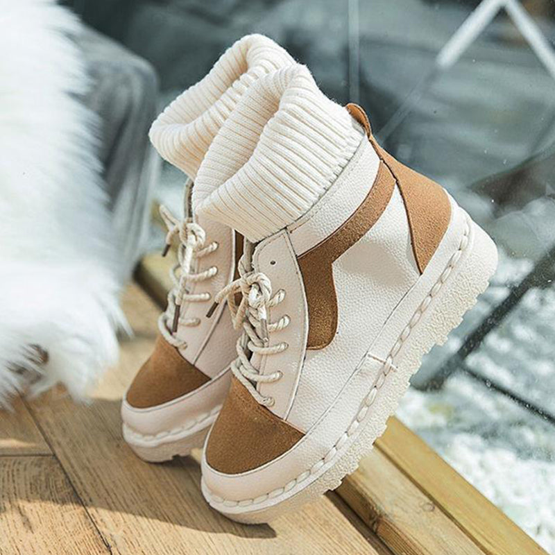OBBVY-High-top Canvas Sneakers