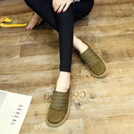 OBBVY-Suede  Flats Super Comfortable Loafers Ultra Size US5-9.5/EU35-42
