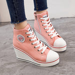 OBBVY-Women's Fashion Wedge Shoes Comfortable Casual Shoes
