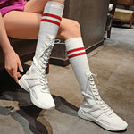 Fashion Trend-Long Casual Shoes Women's Sneakers Boots