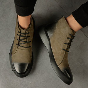 OBBVY-Fashion Chelsea Boots