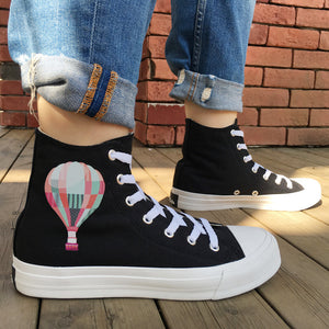 OBBVY-Unique High-top Soft Sole Canvas Shoes Size US4.5-14/EU35-49