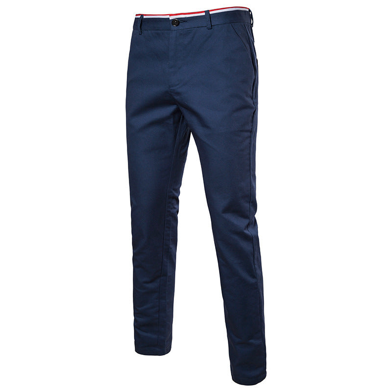 OBBVY-Top Fashion Men's Trousers Long Pants