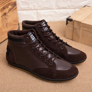 OBBVY-Soft High-top  Shoes Lightweight Comfortable Size US6.5-12/EU39-46