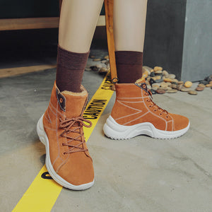 OBBVY-Warm Waterproof Sneakers