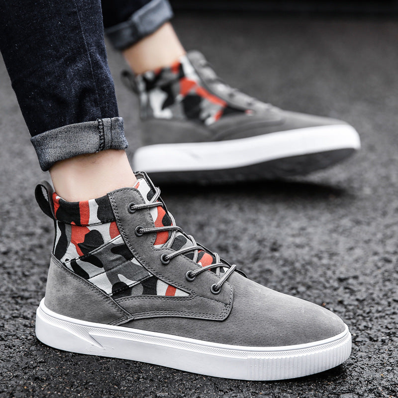 OBBVY-High-top Shoes