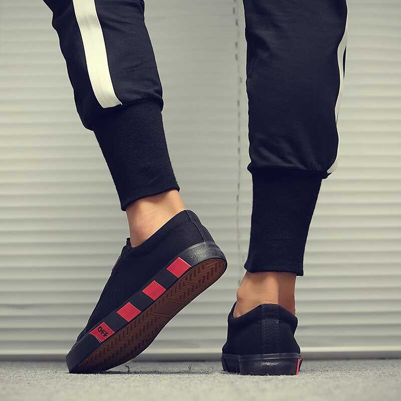 OBBVY-New Canvas Shoes Fashion Loafers  Casual Shoes