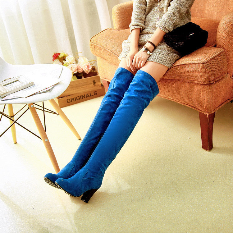 OBBVY-Women's Knee High Boots