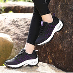 OBBVY-Lightweight Comfortable Lace-up Sneakers