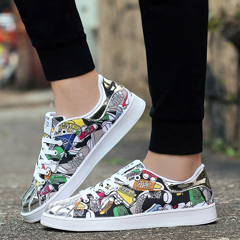 OBBVY-Top Sale Printed Shoes Newly Fashion Size US5-12/EU35-46