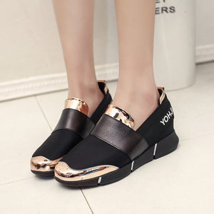 OBBVY-Non-Slip Simple Platform Shoes